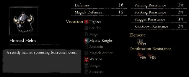 Dragonforged Horned Helm