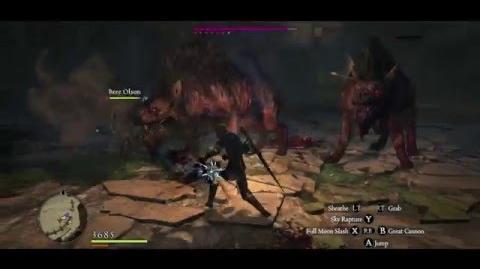 Mystic Knight vs 5 Garm, 2 Hellhounds, 2 Wargs (A)