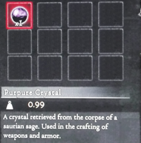 Dragon's Dogma - Purpure Crystal (Full)