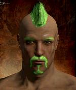 Bright Green Hair Dye