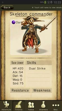 Skeleton commander