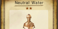 Neutral Water