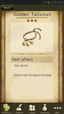Golden Talisman