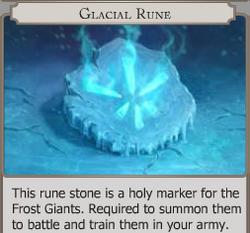 Glacial Rune