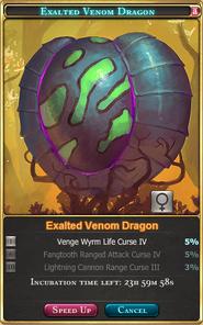 Exalted Venom Dragon(Venom Tournament 1st-2nd)