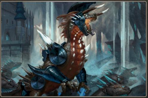 Resplendent Scales + Normal Armor