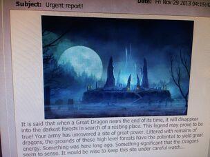 Wraith dragon smaller size