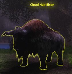 Cloud Hair Bison
