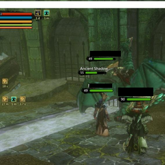 Where Ancient Shadow appears in Nameless Keep. Screenshot by Eptica and re-posted from the EU forums.