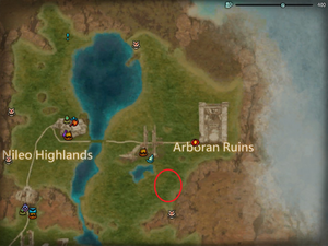 Location Bakra Thistlefur Ironclaw Dragon