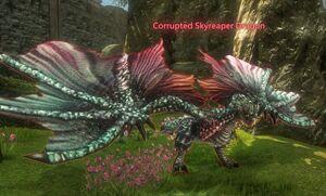 Corrupted Skyreaper Dragon