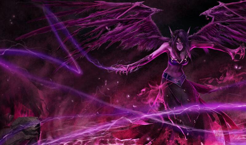 Lol morgana the fallen angel by myyyth-d37i5bb