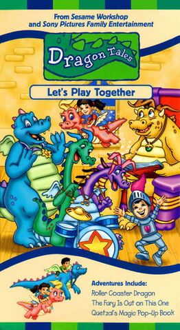 File:Dragon Tales - Let's Play Together VHS Cover.jpg