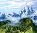 Skyclaw Ridge Mountains