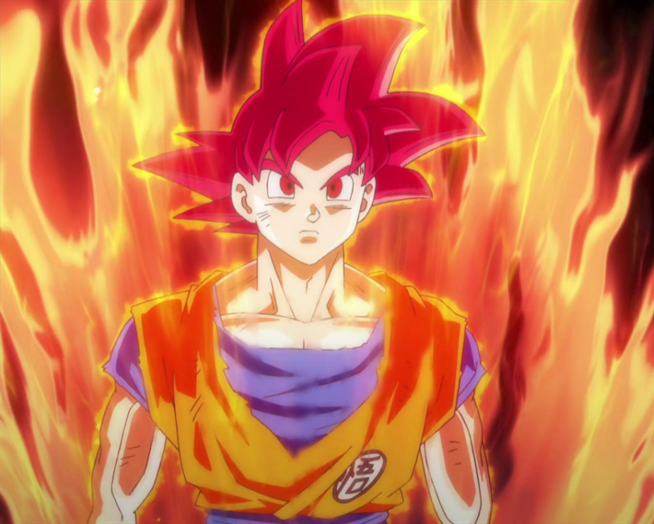 Dibujo De Goku Super Sayayin Dios Fase 5 Pintado Por En: Dragon Universe Wikia