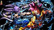 Goku vs Beerus wallpaper