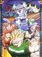 Dragon Team vs Freeza' Army DBS Calendar