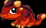 Scoria Dragon Baby