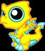 Lightning Dragon Baby