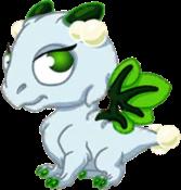 Mistletoe Dragon Baby