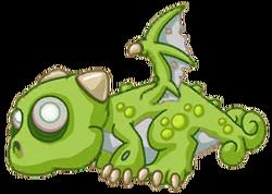 Zombie Dragon Baby