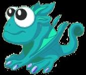 Swamp Dragon Baby