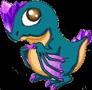 Amethyst Dragon Baby