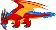 Frostfire Dragon Adult