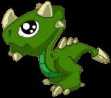 Malachite Dragon Baby