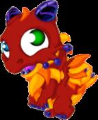 Motley Dragon Baby