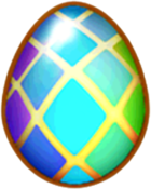 Double Rainbow Dragon Egg
