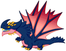 Darkling Dragon Adult