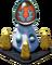 Silver Olympus Pedestal