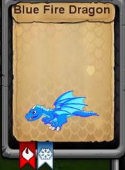 Blue Fire Dragon