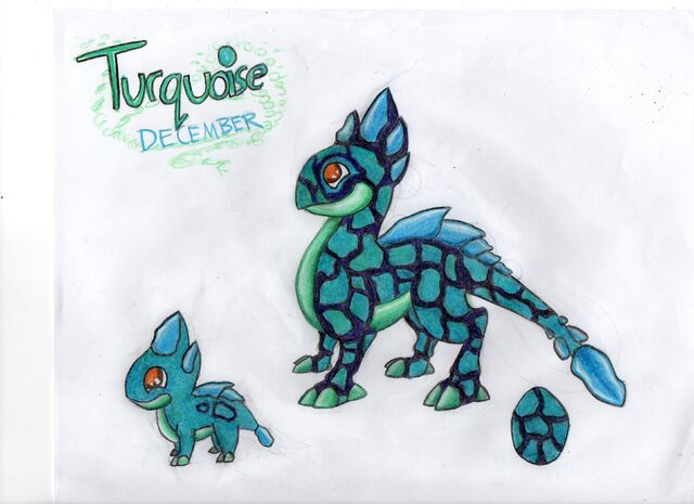 Images of Turquoise Dragon Dragonvale - www industrious info