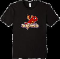 DragonValeT-Shirt-BabyFireDragon - Black