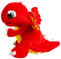 DragonValePlushToy-FireDragon-Side