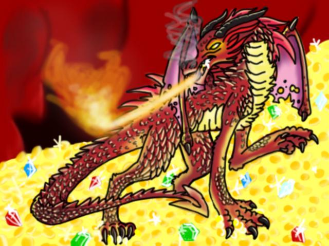 File:Smaug Dragon - Coloured.png