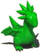 GreenDragonFigurine