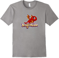 DragonValeT-Shirt-BabyFireDragon - Slate