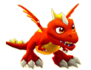 Fire Dragon Juvenile