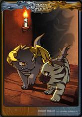 Card hyena goldenhorn