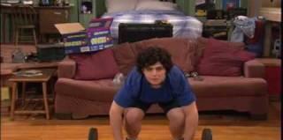 When Josh breaks his foot