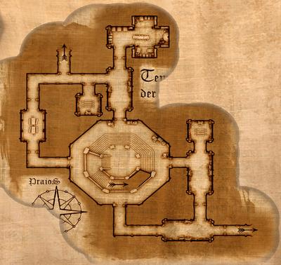 Tempel der Hesinde Map Geweihtenraeume