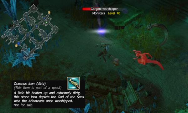 Gorgon worshipper oceanus