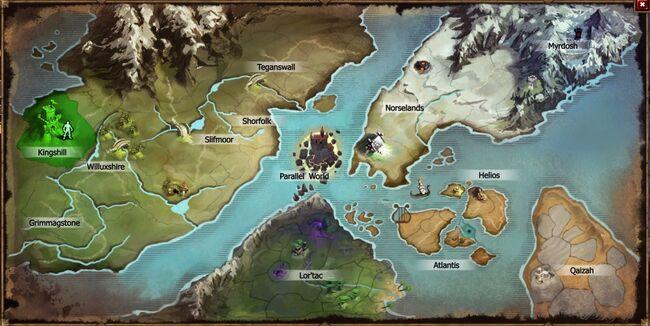 Latest World Map