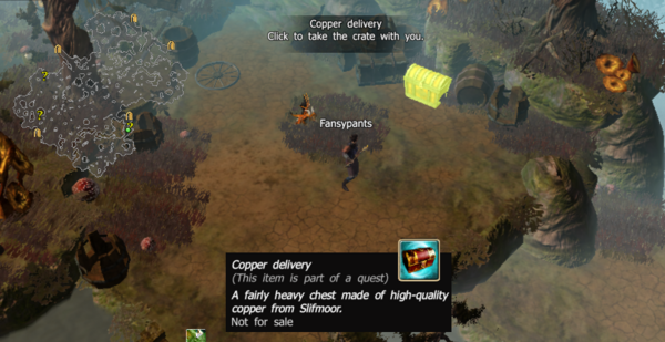 Copper delivery