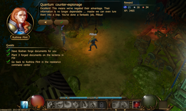 Quantum counter-espionage a