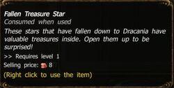 Fallen Treasure Star