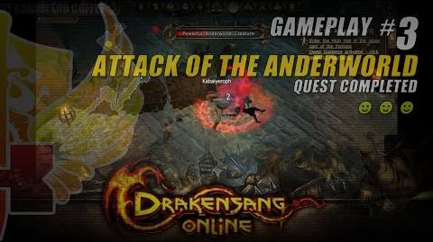 Drakensang Online Gameplay 3 ★ Attack Of The Anderworld Quest Completed